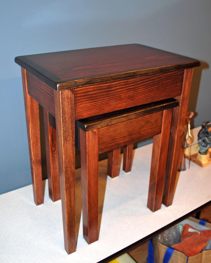 Stacked Tables By Lowell Dawkins